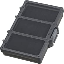 Daiichiseiko Fishing Jig case Stripe line jig Holder Plastic case:MC case 138S Black, 5.9 x 3.9 x 1 inch