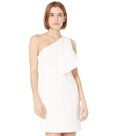 Halston Brigitte Flounce Dress
