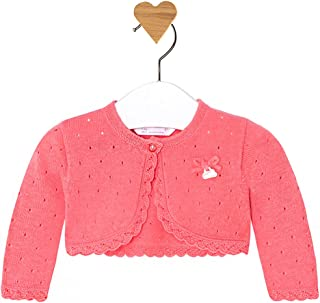 Mayoral Baby Girl Knit Cardigan in Coral