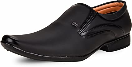 ESSENCE Men's Formal Synthetic Slip-On Shoes