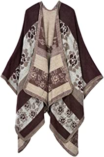 Women's Extra Large Spring and Autumn Long Stole Soft Warm Scarf Shawl Coffee