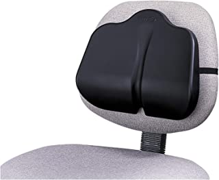 Safco 7151BL - Softspot Low Profile Backrest, 13-1/2w x 3d x 11h, Black