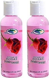 Agua De Rosas 4 Oz. Rose Water Facial Toner Pack 2