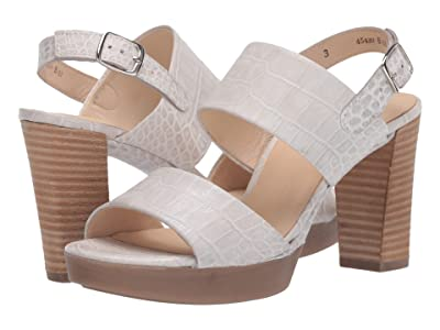 Paul Green Amanda Heel (Off-White Croco) Women