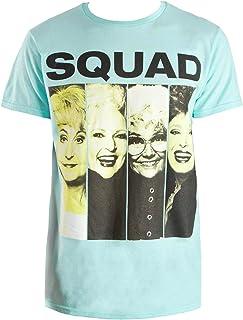 Fashion Golden Girls Squad Celadon Green Graphic T-Shirt