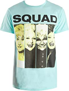 Fashion Golden Girls Squad Celadon Green Graphic T-Shirt