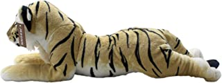 JESONN Realistic Stuffed Animals Grovel Tiger Plush Toys Pillows,23.6