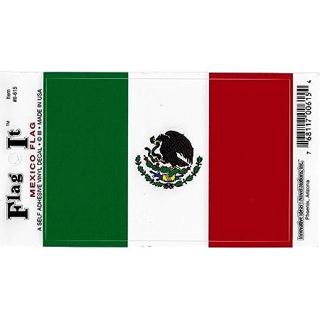 /'/'SIZES/'/' Guadalajara Mexico World Flag Stamp Car Bumper Sticker Decal