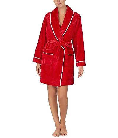 Kate Spade New York Chenille Wrap Robe (Charm Red) Women