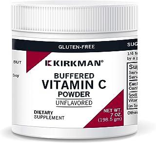 Kirkman Buffered Vitamin C Powder - Unflavored - Bio-Max Series - Hypoallergenic   198.5 gm/7 oz