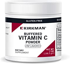 Kirkman Buffered Vitamin C Powder - Unflavored - Bio-Max Series - Hypoallergenic | 198.5 gm/7 oz