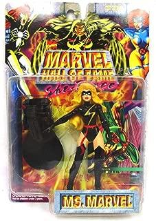 Toy Biz Marvel Hall of Fame Ms. Marvel Black Warbird Suit NEW