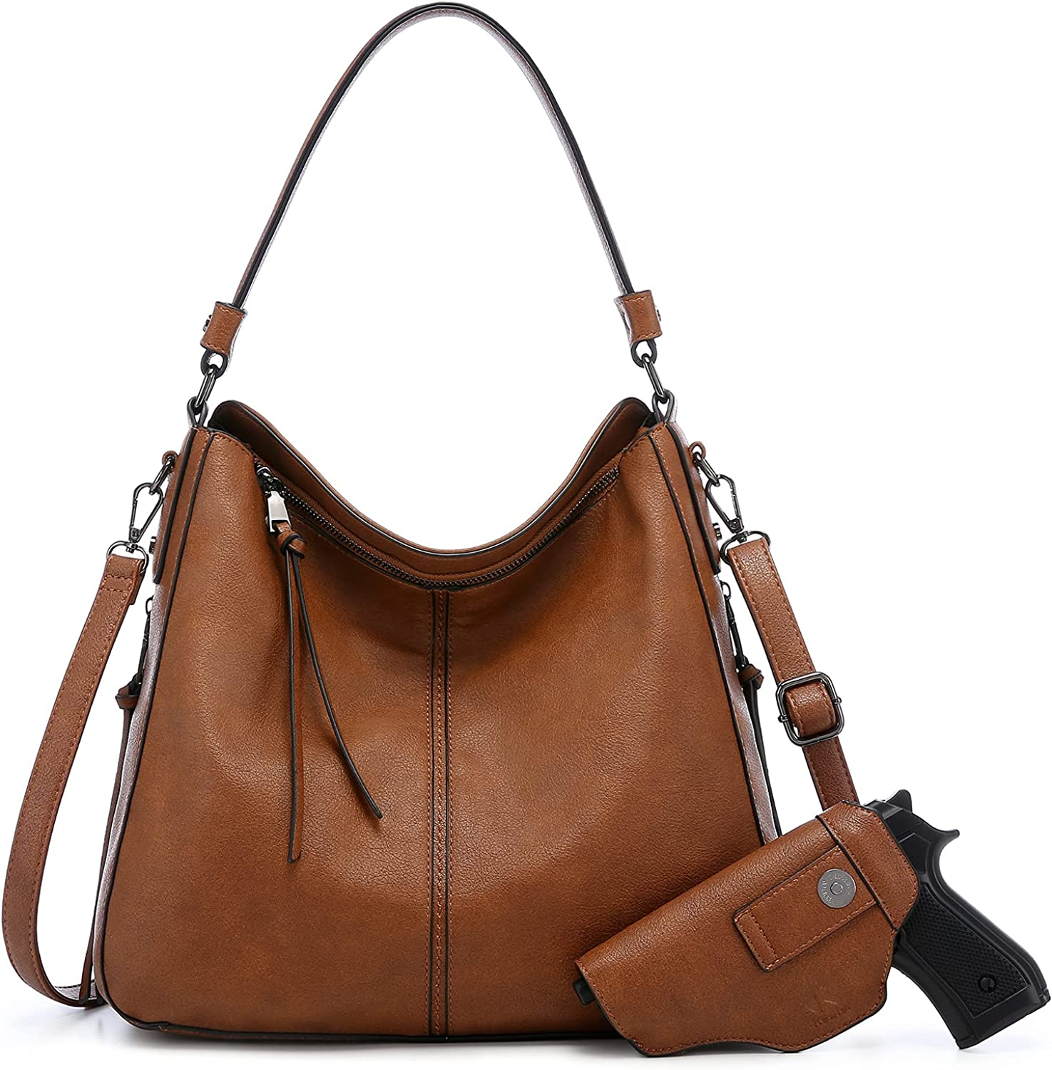 Realer High quality Hobo Bags for Women Faux Leather and Larg Purses Handbags OFFicial