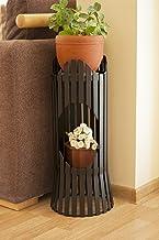 DanDiBo Bloemenzuil metaal zwart 60 cm bloemenstandaard Albero bloemenkruk bloementafel plantenbak