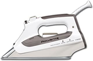 Rowenta DZ5160 Focus Auto Shut off Stainless Steel Soleplate Steam Iron, 1700-Watt, Brown