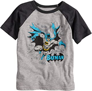 Jumping Beans Boys 4-10 DC Comics Batman Blast Raglan Graphic Tee 5e0eee4c9