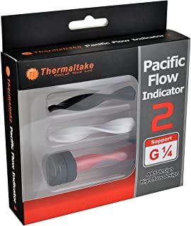 Thermaltake CL-W152-PL00BL-A Pacific Flow Indicator 2 Schwarz/Rot - Plexi Water Cooling Monitoring