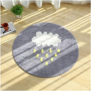 Baby Play Mat, Children's Gym Activity Carpet 120cm Play Mat Baby, Cloud Rain Weather Play Mat For Baby For Bedroom Living...