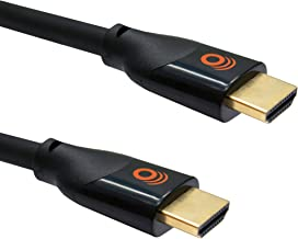 ECHOGEAR Short 2ft HDMI Ultra HD High Speed Cable - 4k & HDR Compatible - Meets Latest HDMI Standard - Gold Plated Connections - Supports HD, 4k Ethernet Signals 120fps Refresh & 48gbps Bandwidth