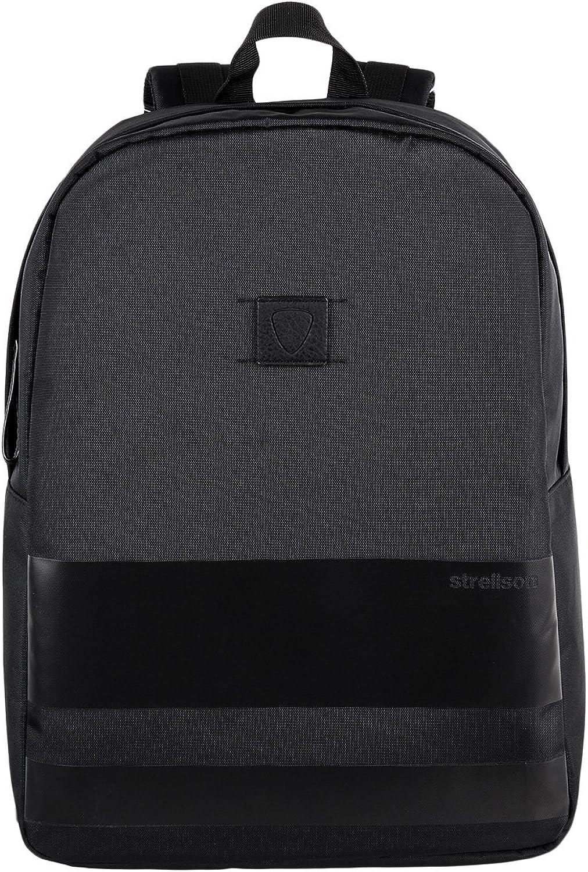 Strellson Bennett Daypack Nylon Rucksack Back Pack mit Laptop Fach schwarz B01M73VWS7  Sehr gelobt und vom Publikum der Verbraucher geschätzt
