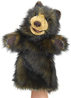 Folkmanis Bear Stage Puppet, Brown, 1 EA