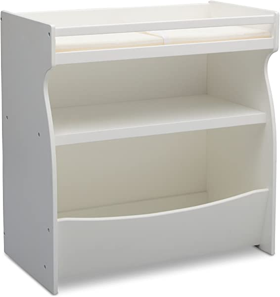 Delta Children 2 In 1 Changing Table And Storage Unit Bianca