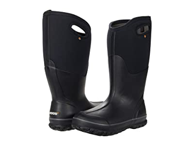 Bogs Classic Tall Wide Calf (Black) Women