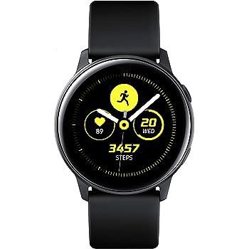 Samsung Galaxy Watch Active Reloj Inteligente Negro SAMOLED 2,79 cm (1.1