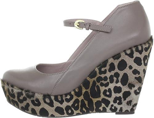 Naomi miezko plateaupumps funghi high heel support support en cuir  nouvelle exclusivité haut de gamme