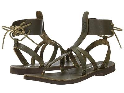 Free People Vacation Day Wrap Sandal (Khaki) Women