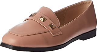 Shoexpress Loafer Shoes for Women - Dusty Pink