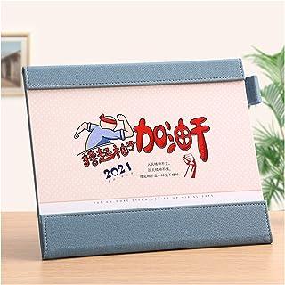 $24 » ZJH 2021 Desk Calendar,Creativity Desktop Standing Flip Calendar 12 Monthly Calendar Daily Organizer Planner,for Home Offi...