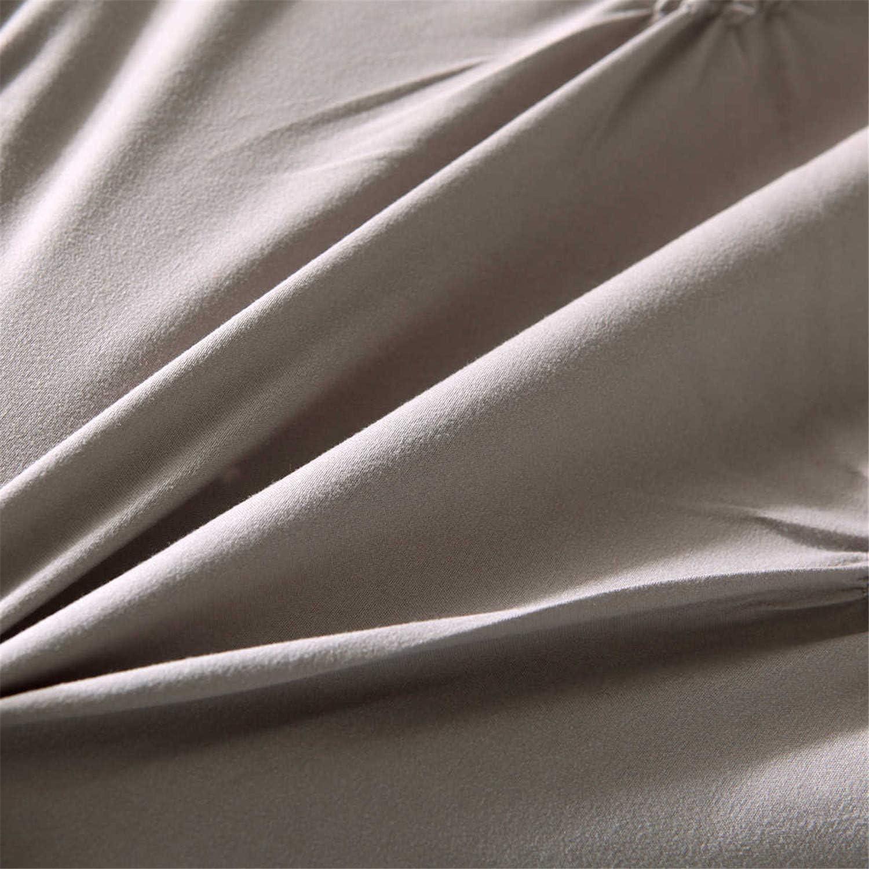 ROOMLIFE Black Pintuck Mens Duvet Cover Queen Black Comforter Cover for Boys Teens with Hidden Zipper Closure and 4 Corner Ties Machine Washable Modern Geometric