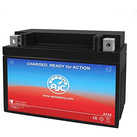 AJC Battery Compatible with KTM RC390 390CC Motorcycle Battery (2015)