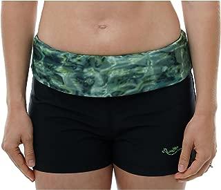 Aqua Design Swim Shorts for Women: UPF 50+ UV Boy Short Swimshorts Swimwear