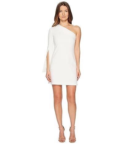 Neil Barrett One Shoulder Stretch Crepe Dress (Off-White) Women