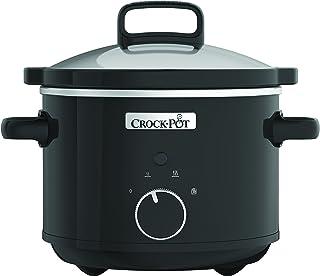 Crock-Pot CSC046X Traditioneller CrockPot Schongarer / Slow Cooker 2,4 L aus Edelstahl