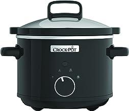 Crock Pot mijoteuse électrique, 2,4L (1-2 personnes), 2 réglages de température et maintien au chaud, Blanche [CSC046X]