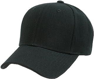 Unisex Casual Baseball Cotton Solid Color Cap Adjustable Low Profile Plain Visor Sporty Hat