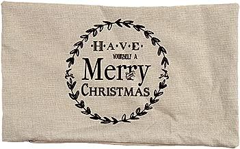 Nstcher Christmas Pillow Sofa Waist Throw Cushion Cover Home Decor WH