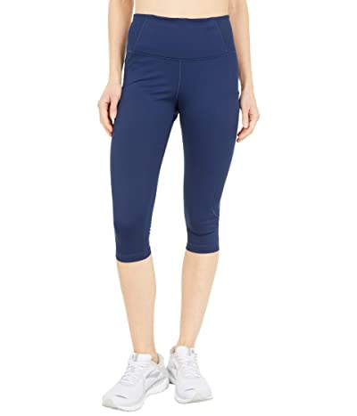 Brooks Method 1/2 Crop Tights (Navy) Women