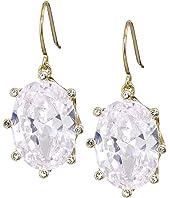 Kate Spade New York - Shine On Oval Drop Earrings
