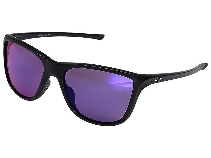 Oakley Reverie (Dark Indigo Blue w/ Prizm Road) Fashion Sunglasses