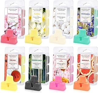 LA BELLEFÉE Scented Wax Melts, Soy Wax Cubes, Wax Melts Wax Cubes 8 Pack, 2.5 oz Wax Bar Melts