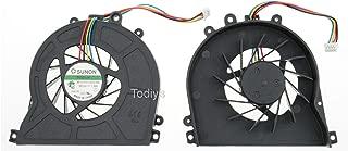 Todiys CPU Cooling Fan for Acer Aspire Revo R3600 R3610 AS3610 R3700 RL70 RL80 MS2177 D410 D425 D510 D525 Series RL70-UR308 RL70-UR10P RL70-UR21P RL80-UR22 RL80-UR23 RL80-UR318 MF40100V1-Q000-S99