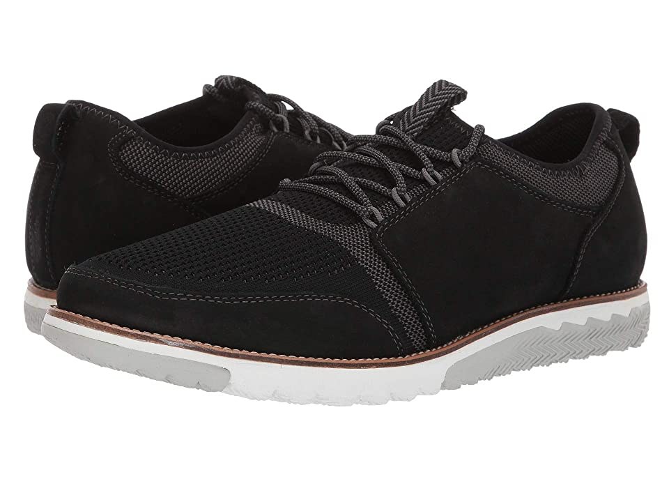 Hush Puppies Expert Knit Lace-Up (Black Knit/Nubuck) Men