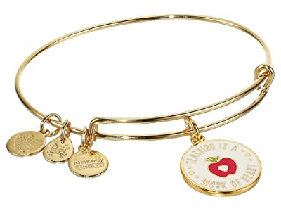 Alex and Ani Color Infusion Teacher Appreciation (Shiny Gold) Bracelet