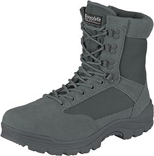 Mil-Tec Tactical Boot M.ykk Zipper - Botas militares Hombre