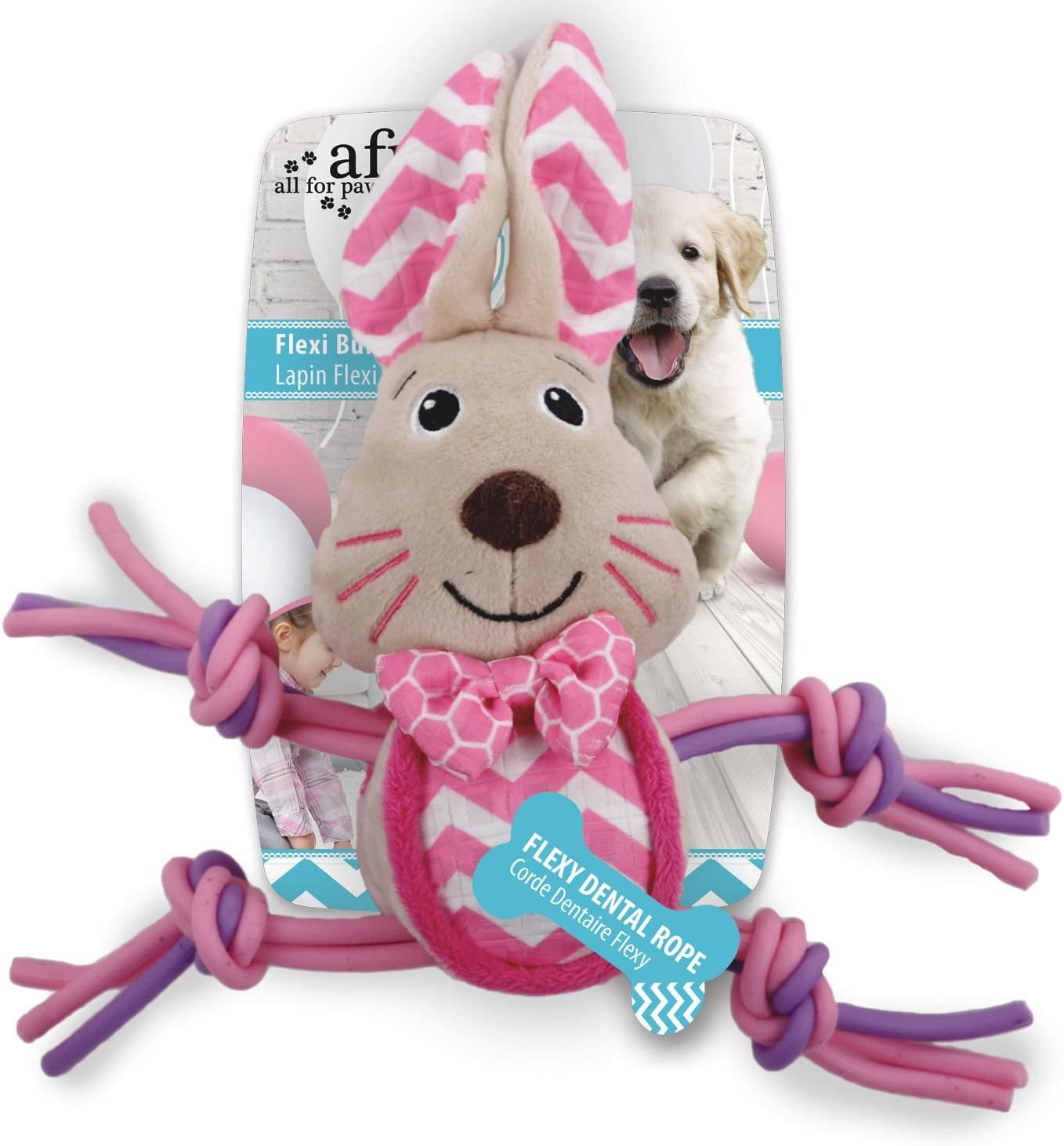 ALL FOR PAWS gift AFP4207 Little Puppy Buddy Rabbit Toy Max 54% OFF