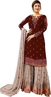 Ready Made New Designer Indian/Pakistani Sharara Style Salwar Suit for Women Fiona